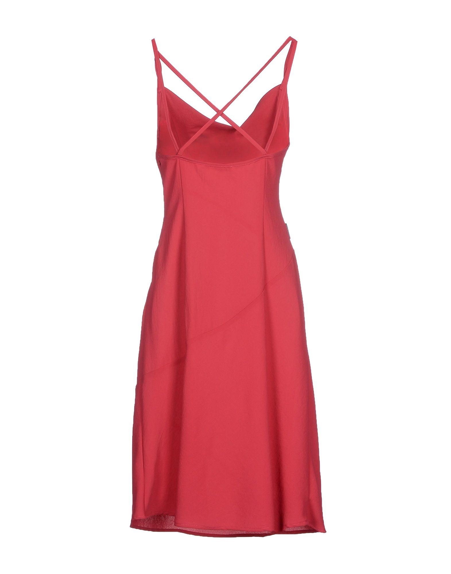 moschino 3 4 length dress lyst