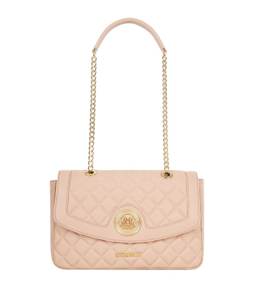 quilted shoulder bag - Pink & Purple Love Moschino sf222sx2n