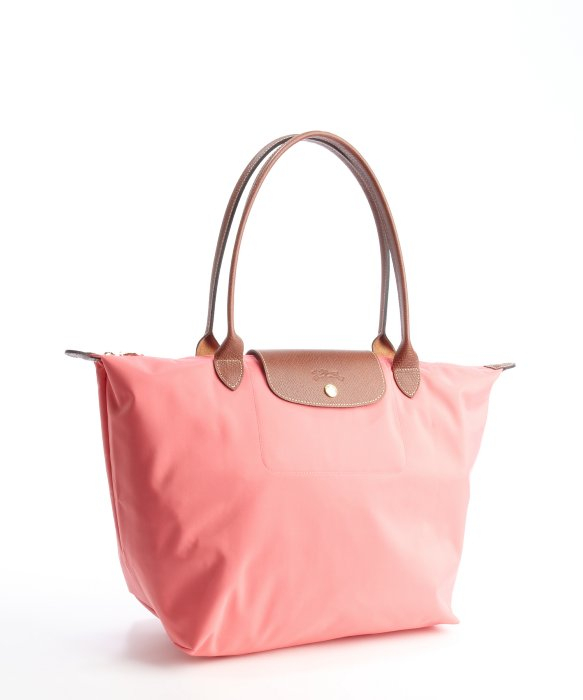 Lyst Longchamp Rose Nylon Large Le Pliage Tote In Pink