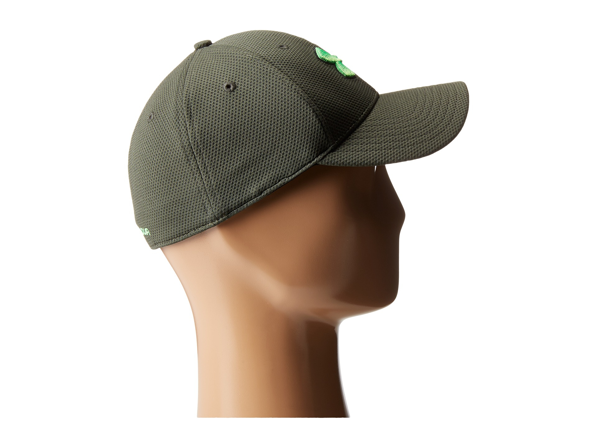bfb7081a343 Lyst - Under Armour Ua Blitzing Ii Stretch Fit Cap in Green for Men