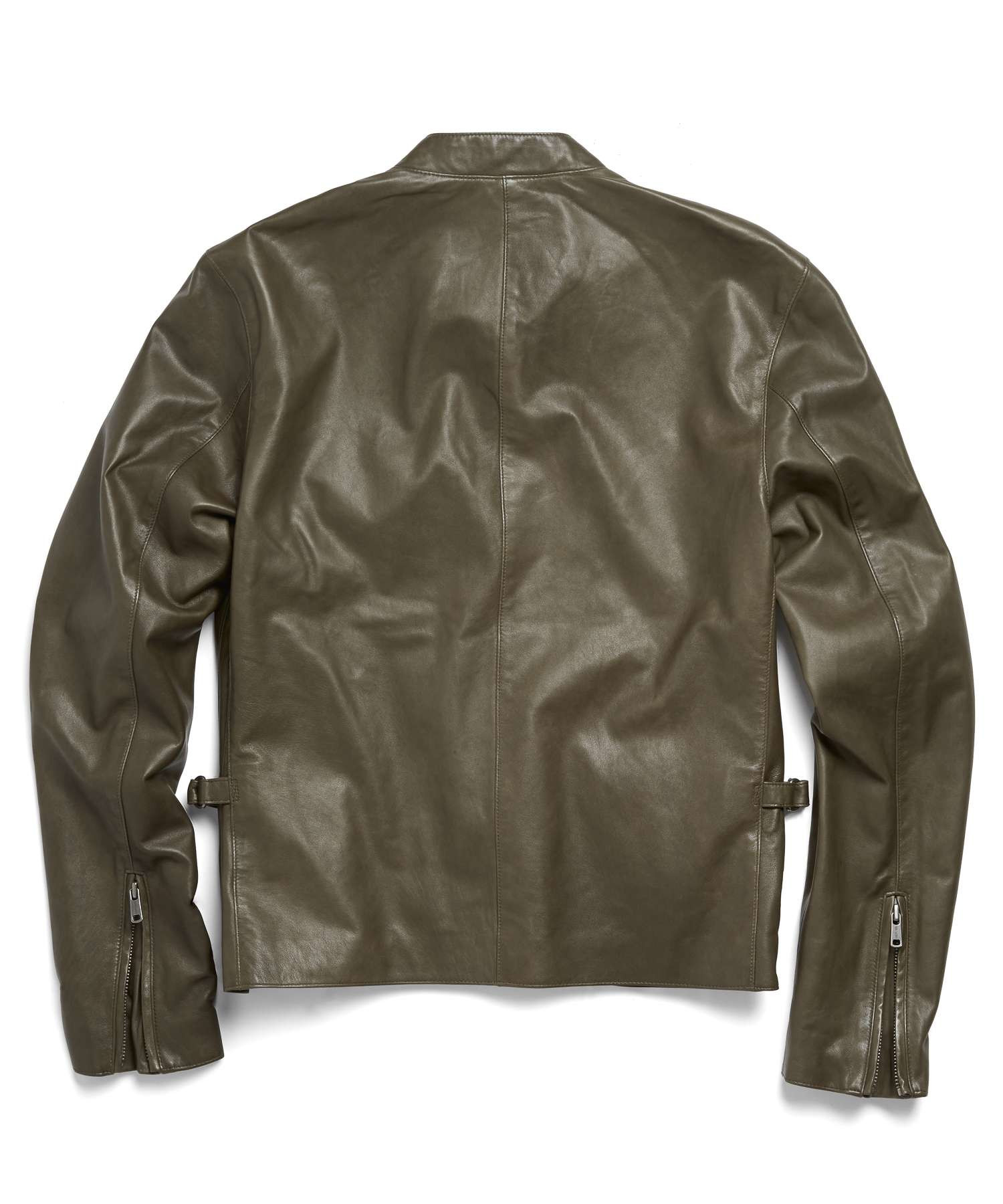 Rag And Bone Leather Jacket Cafe Racer