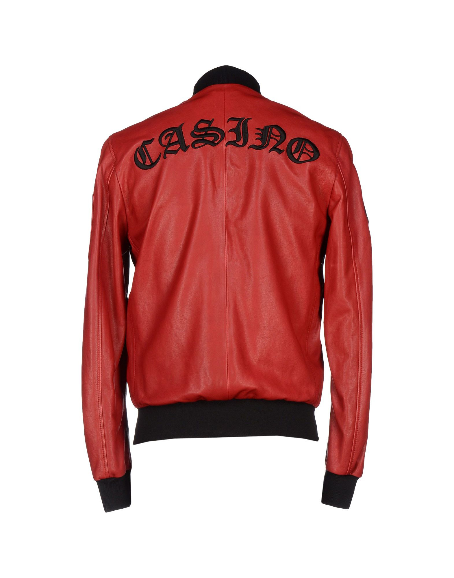 philipp plein jacket in red for men lyst. Black Bedroom Furniture Sets. Home Design Ideas