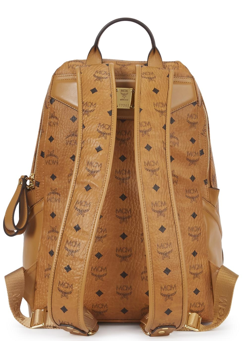 Camel Leather Backpack - Crazy Backpacks