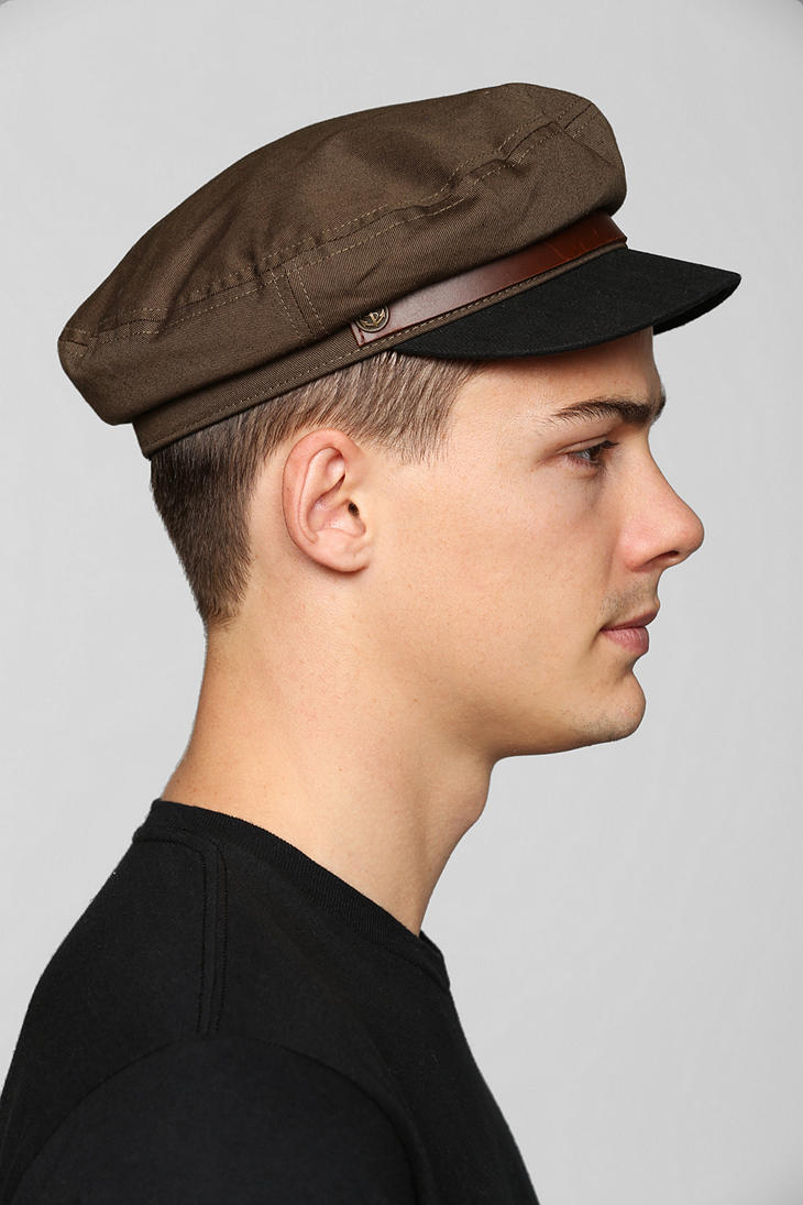 Lyst - Urban Outfitters Brixton Fiddler Fisherman Cap in Natural for Men f05dc32fe3f5
