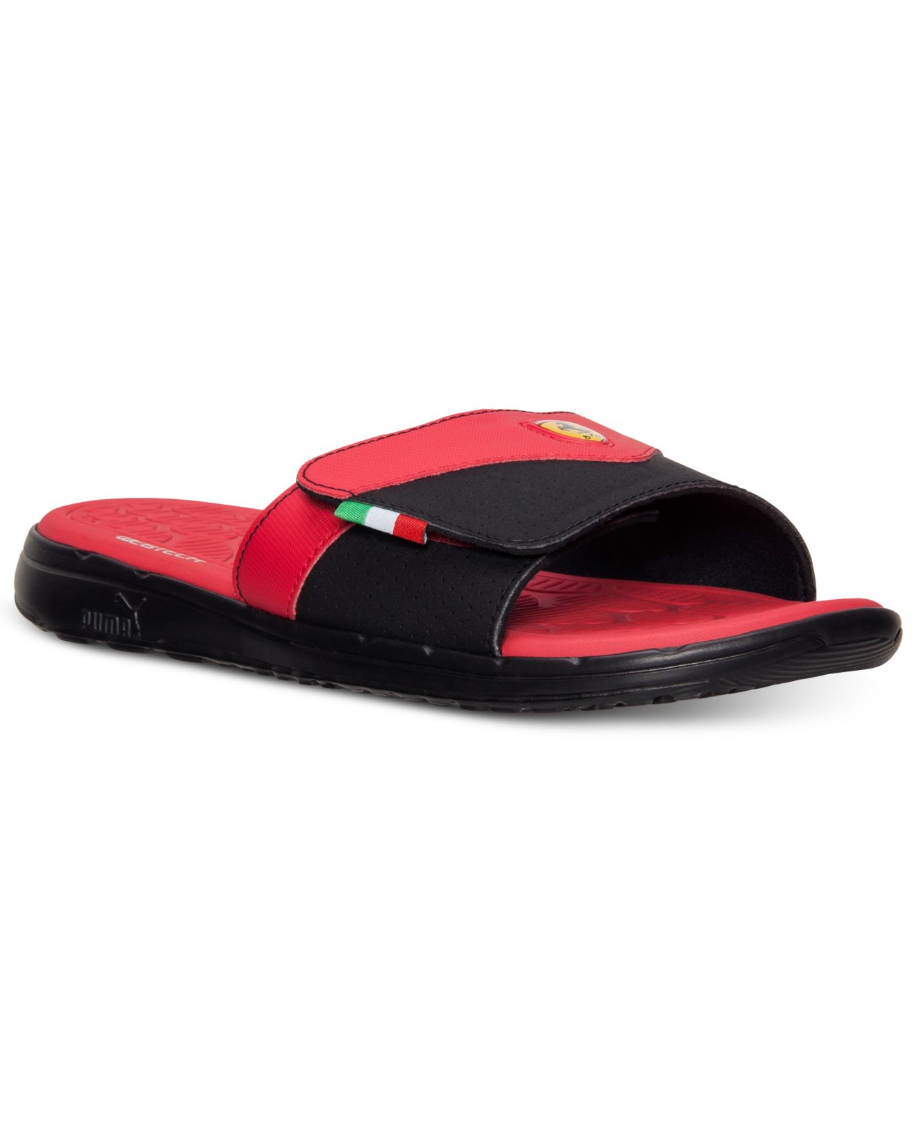 Lyst - Puma Men'S Ferrari Slide Sandals From Finish Line ...