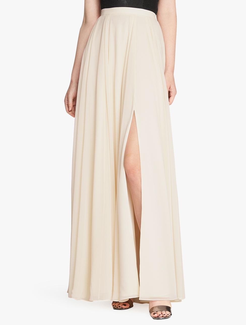flowy maxi skirt in lyst