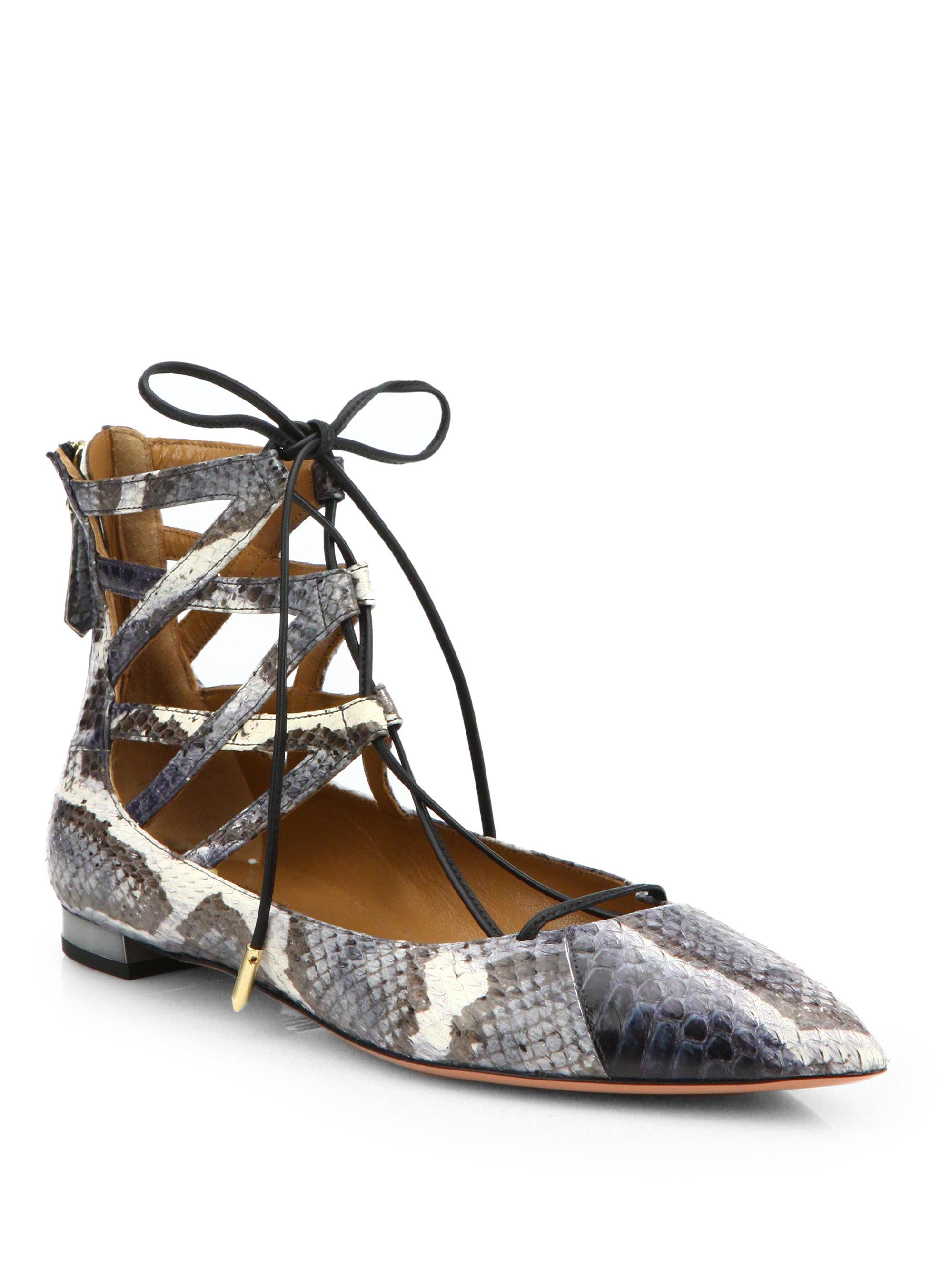 Aquazzura Belgravia ballerina shoes 1jTw9T5TmC