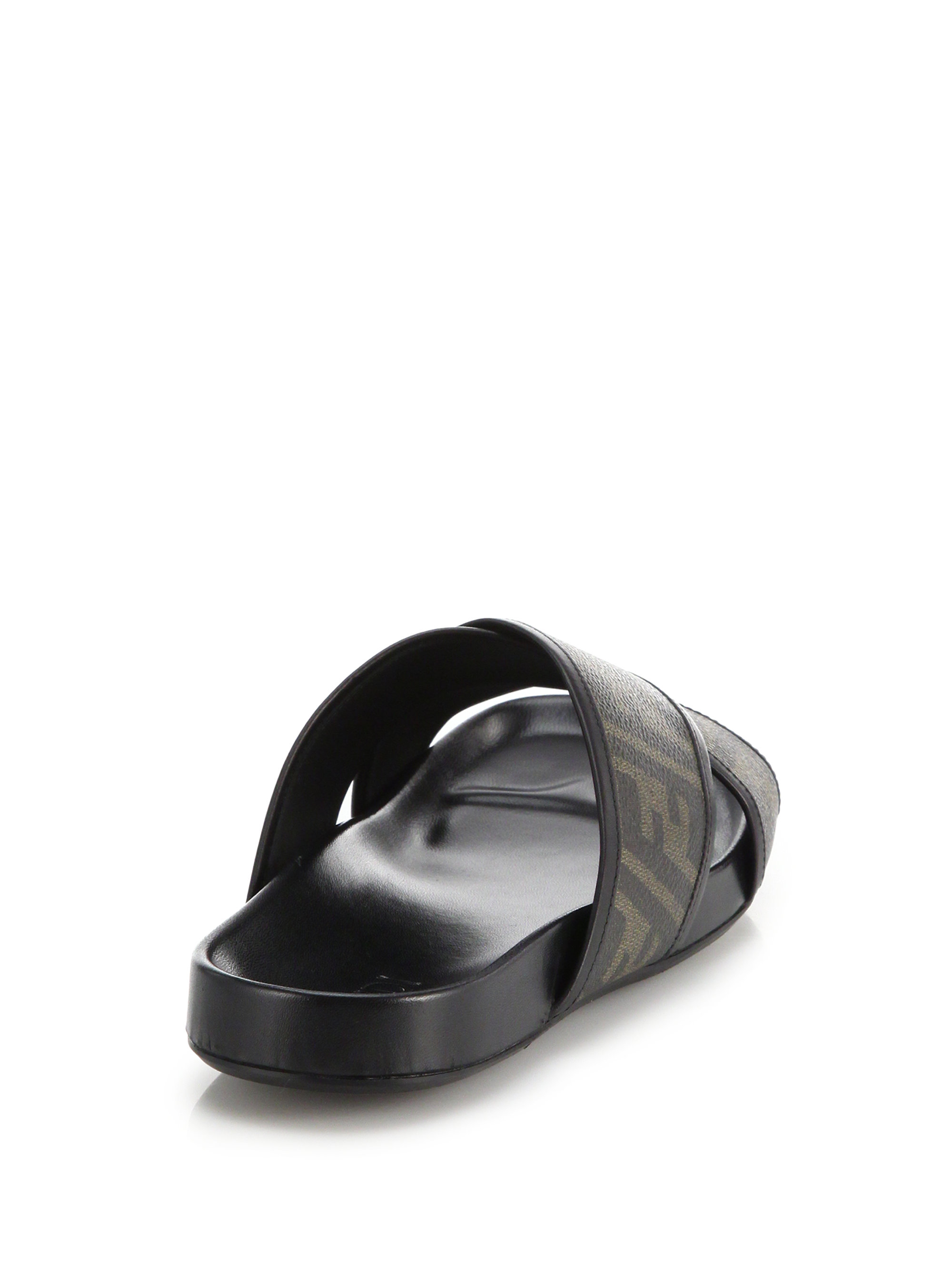 Fendi Zucca Shoes Men