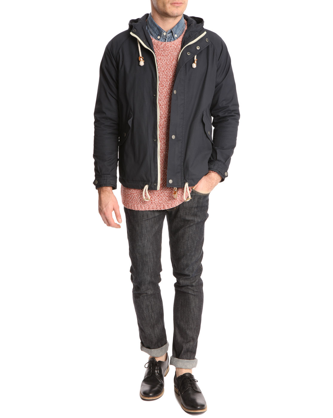 Knowledge Cotton Apparel Jacket Knowledge Cotton Apparel Waxed
