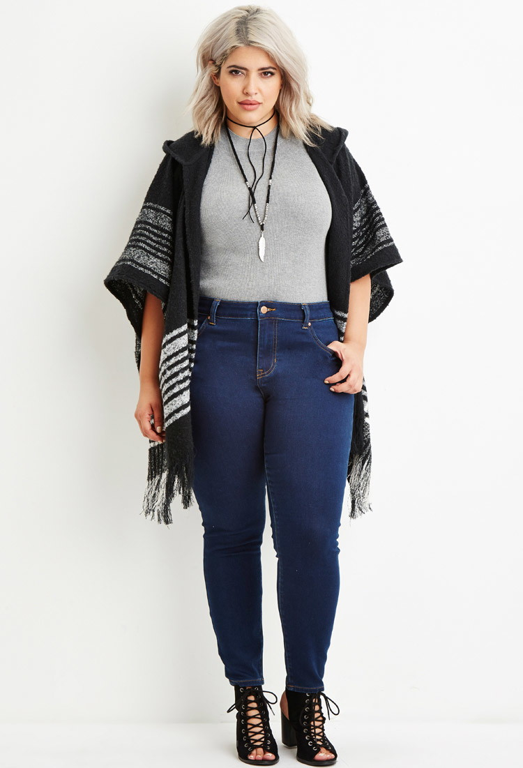 Forever 21 skinny jeans plus size