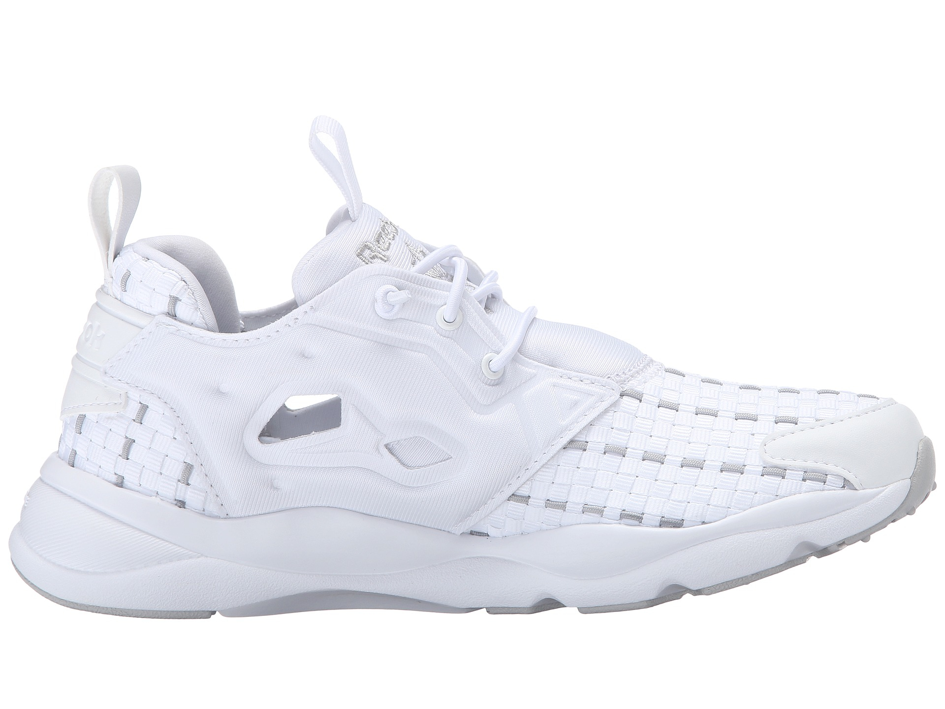 c9ef412c8a32 Lyst - Reebok Furylite New Woven in White