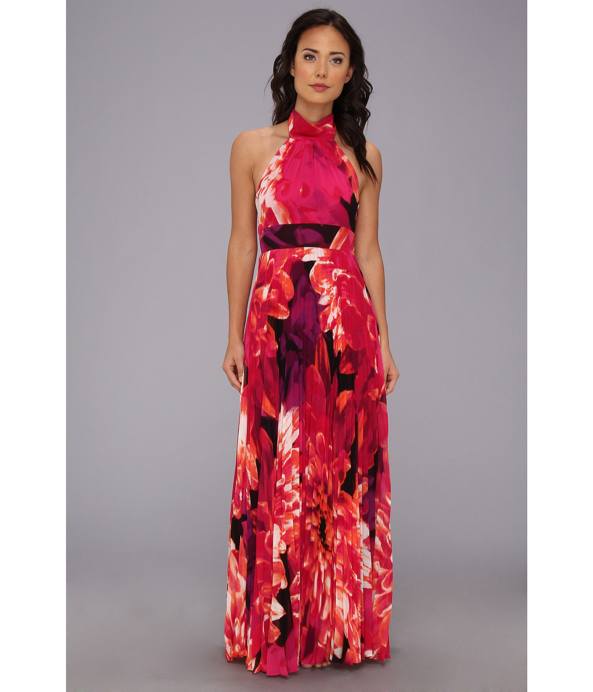 Eliza J Chiffon Halter Gown – Fashion dresses
