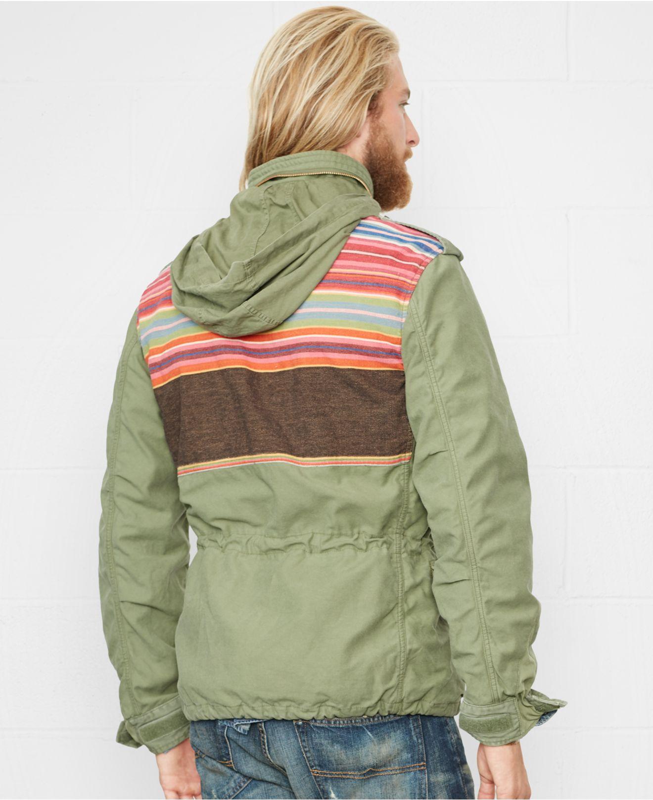 4cbe7d314add7 Lyst - Denim   Supply Ralph Lauren Patterned-yoke Field Jacket in ...