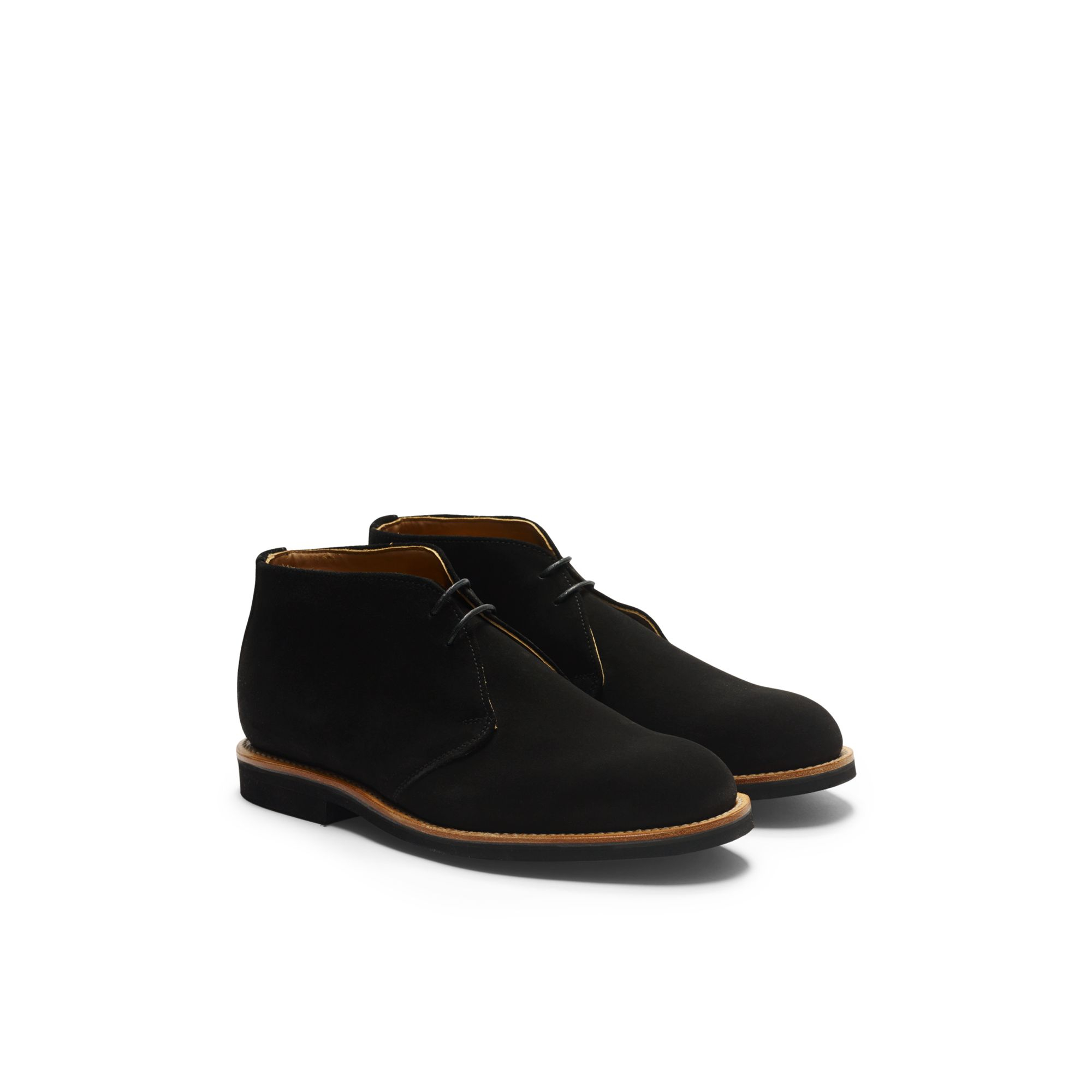 Club monaco Mark Mcnairy Chukka Boot in Black for Men | Lyst