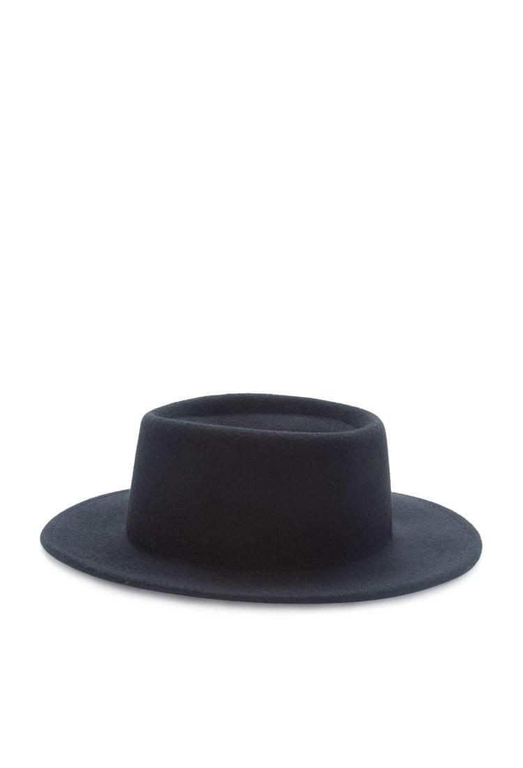 Lyst - Forever 21 Small-brim Wool Fedora in Black c818272c2fd