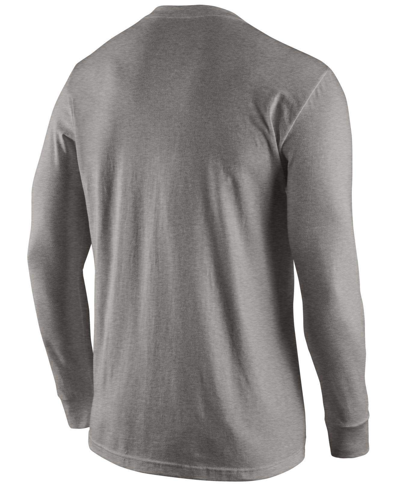 Lyst - Nike Men s Long-sleeve Pittsburgh Steelers Reflective T-shirt ... 7f76fd7d3