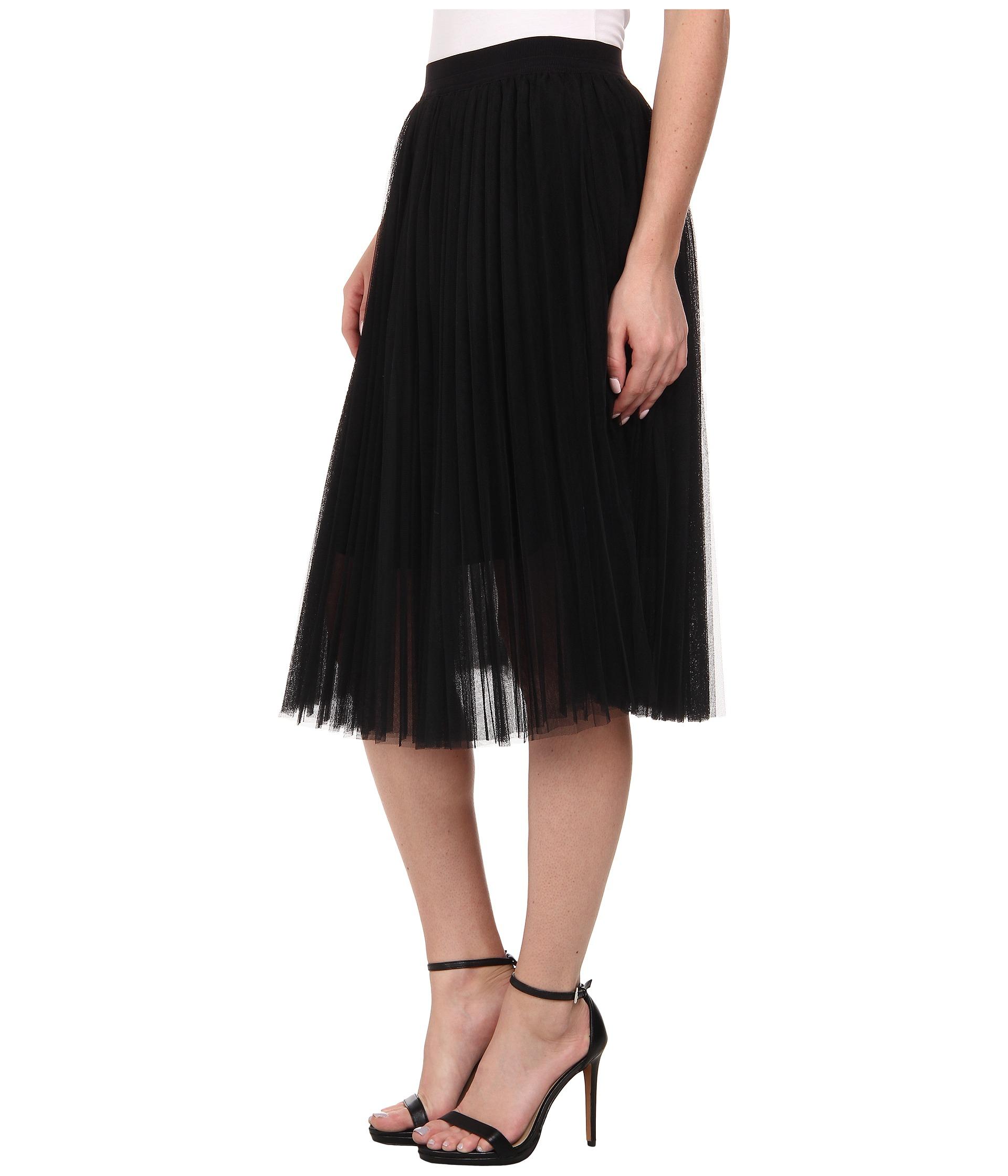Pleated Tulle Skirt 59