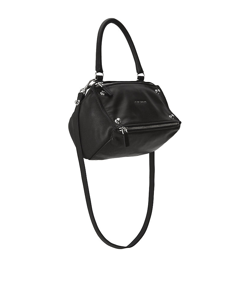 b6dd52fcbb Givenchy Small Studded Pandora Bag in Black - Lyst
