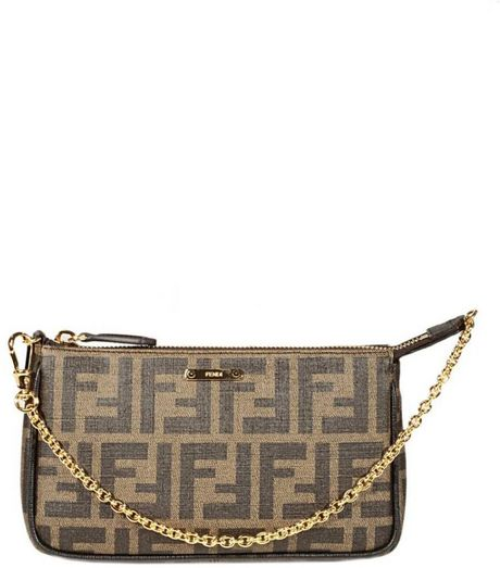 Fendi Forever Zucca Mini Shoulder Bag 44