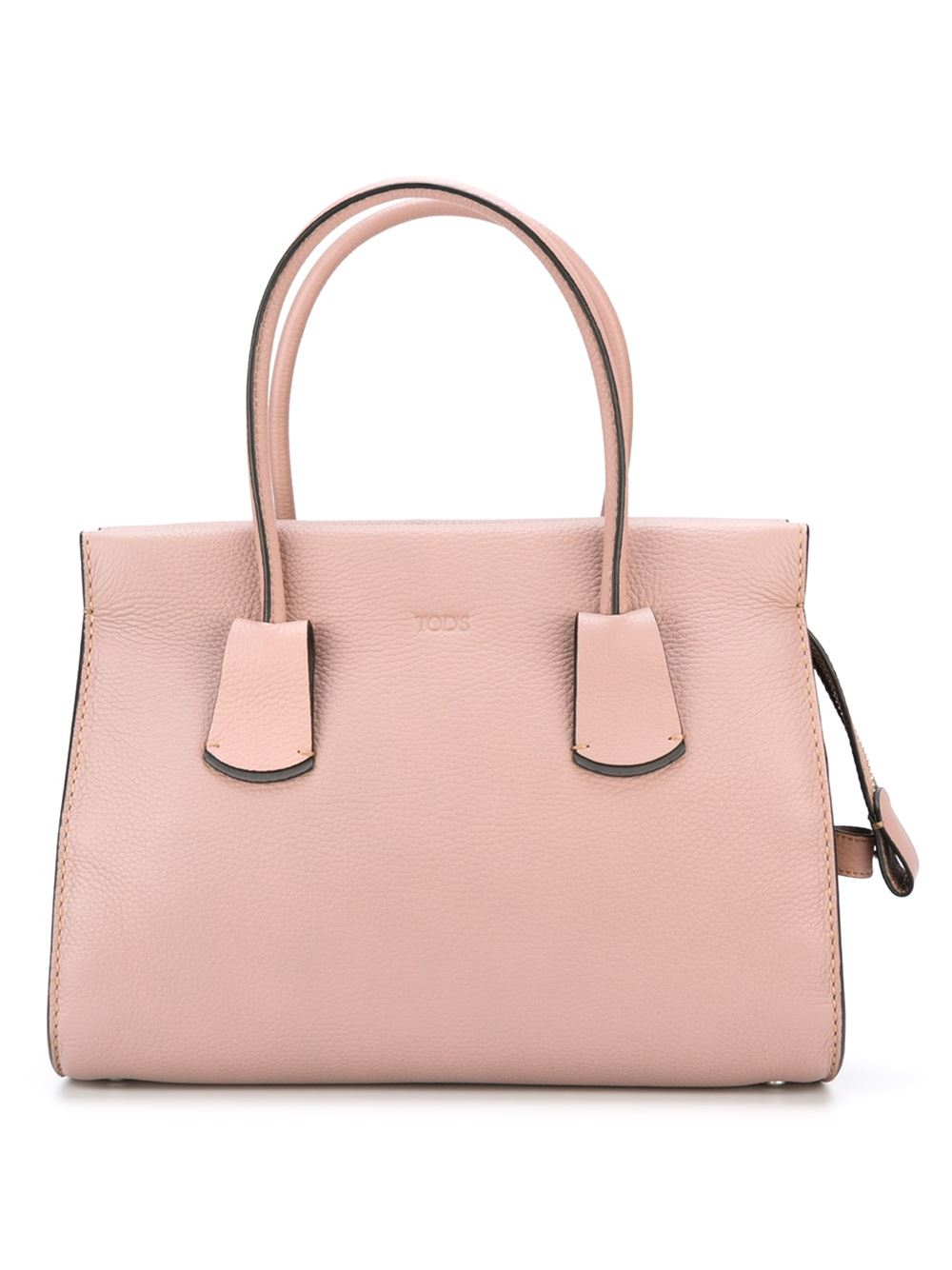 Tod's Small Bowler Tote in Pink (PINK & PURPLE)