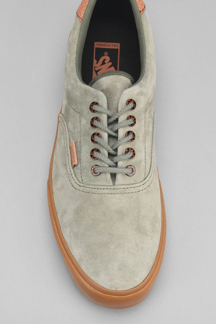 9b6cb6cdc19 Vans Era 59 California Suede Gum-Sole Men'S Sneaker in Green for Men ...