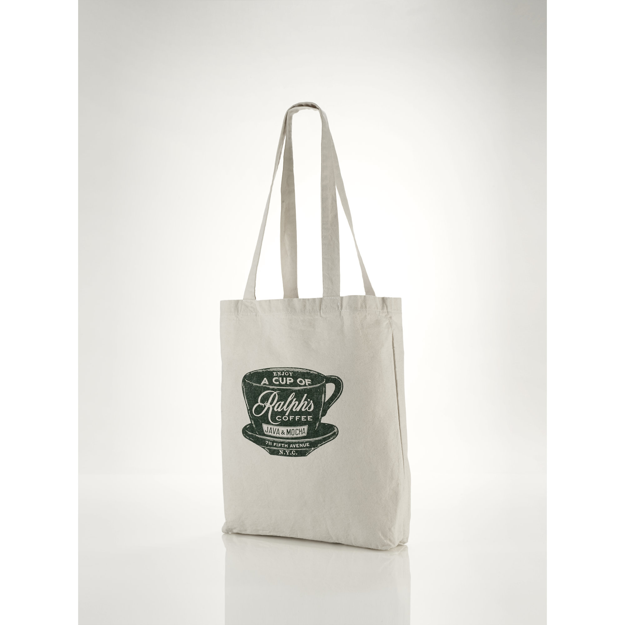 Polo ralph lauren Ralph's Coffee Tote Bag in Natural for Men | Lyst