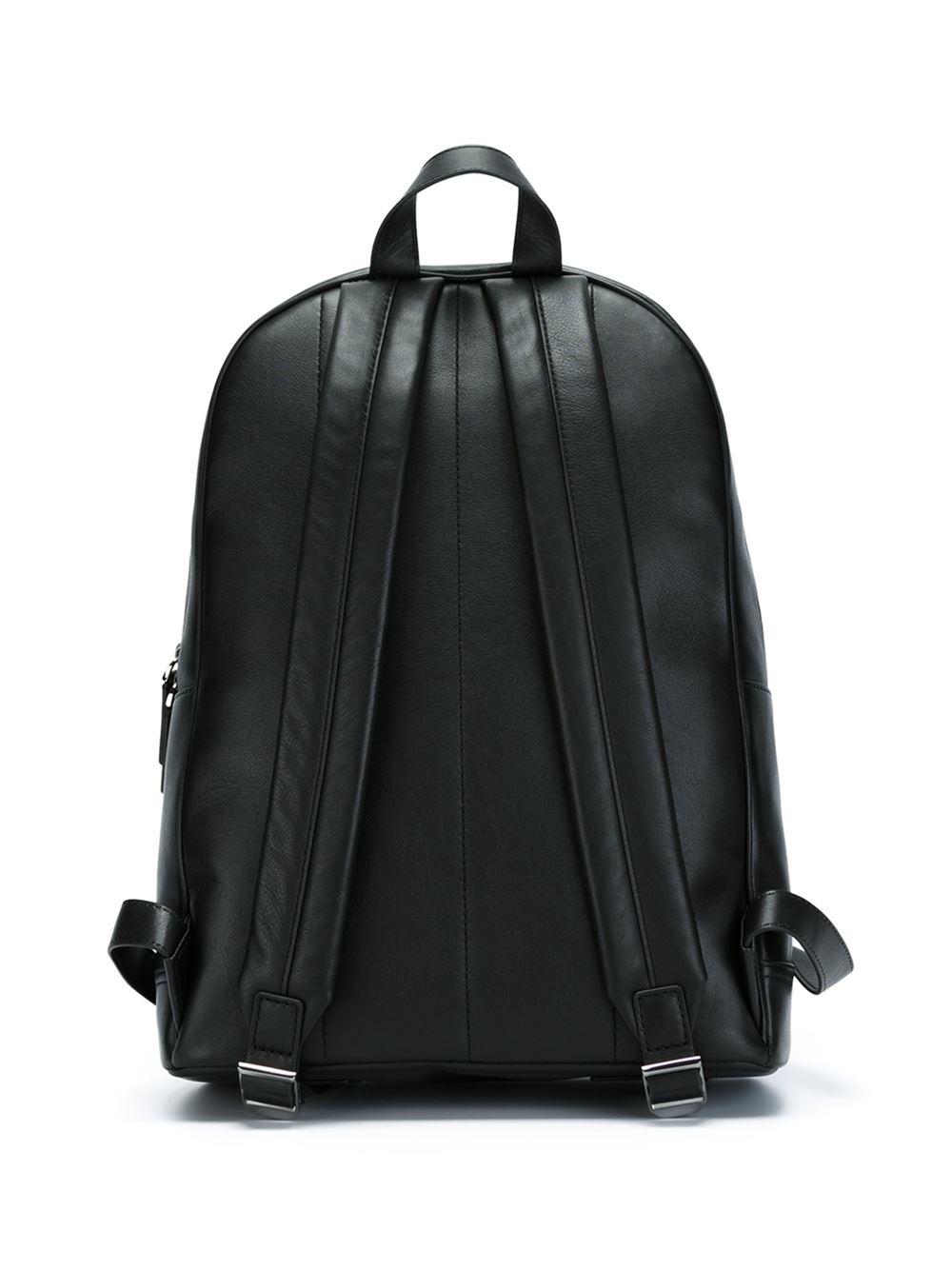 53b9b9fca67e sweden lyst michael kors kent backpack in black for men 2d66b 2b184