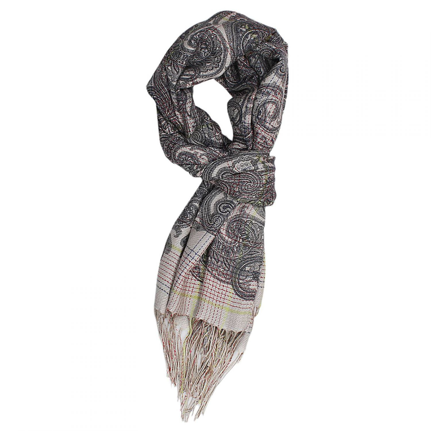 Lyst Etro Scarf In Gray For Men