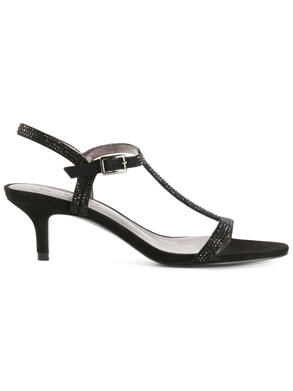 Lyst Pelle Moda Fact Sandals In Black