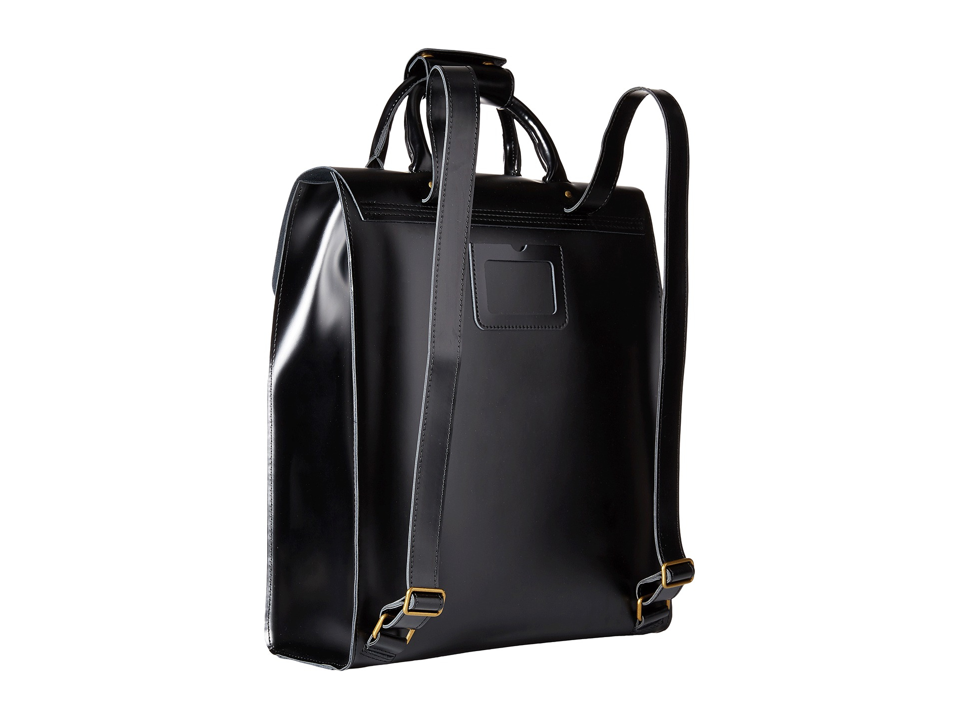 41edab7fbc Dr Martens Small Black Leather Backpack- Fenix Toulouse Handball