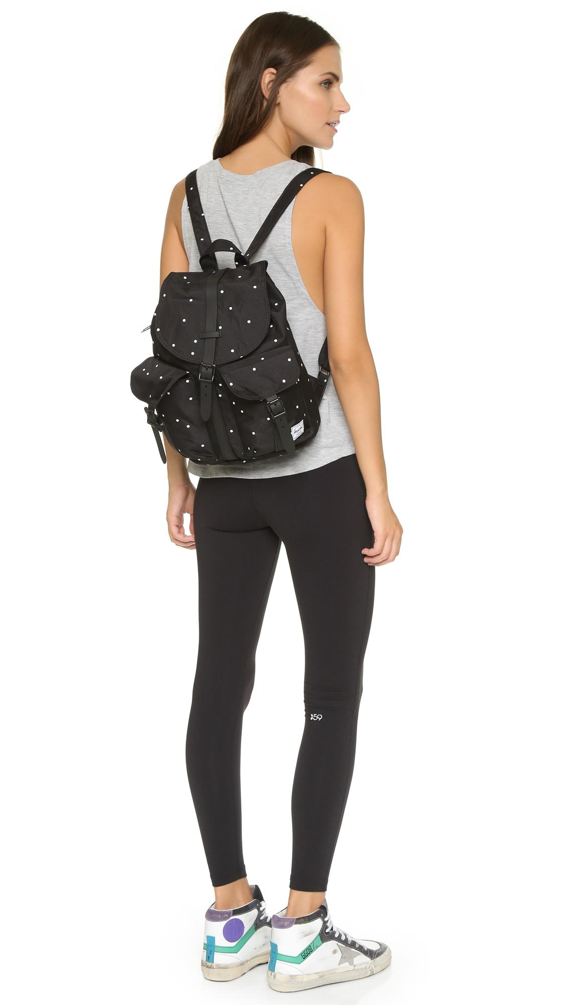 c369a5e71e8 Herschel Supply Co. Dawson Backpack - Scattered Black black in Black ...