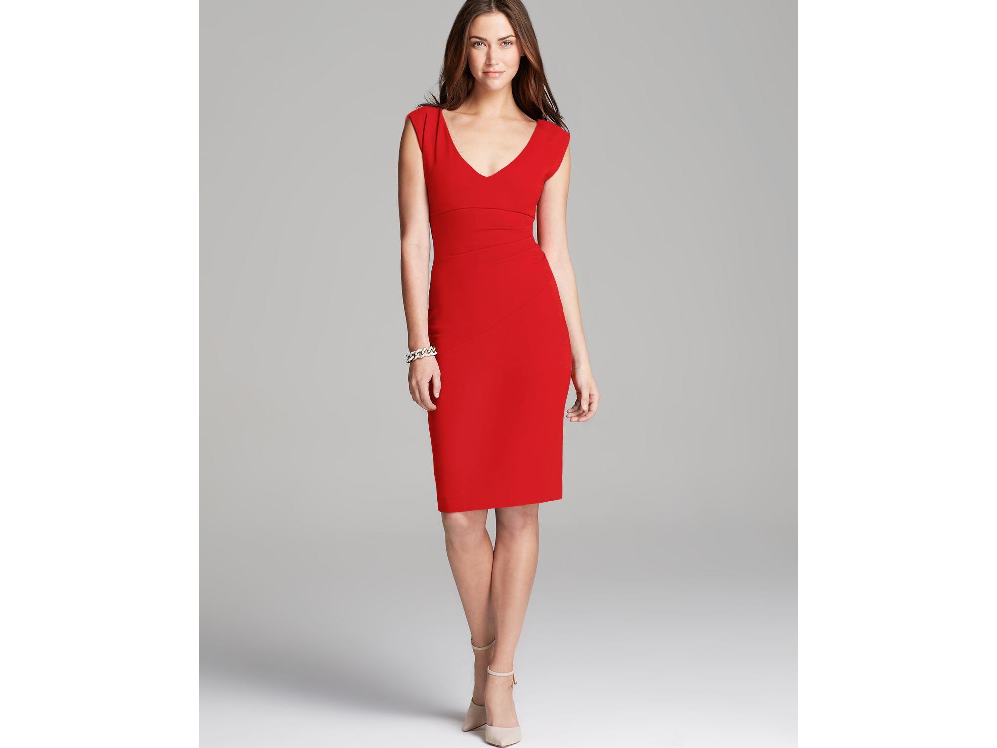 087a0d8a14c Diane Von Furstenberg Red Dress - Best Red Colour