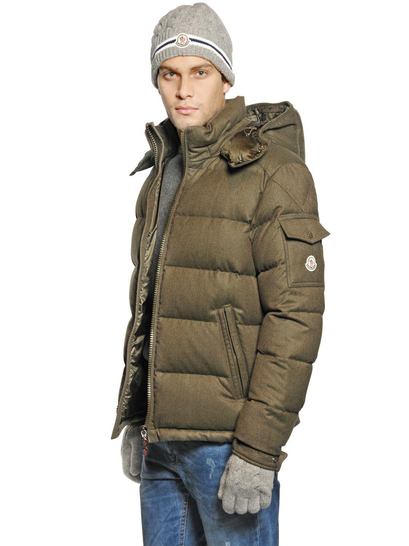 moncler green jacket mens