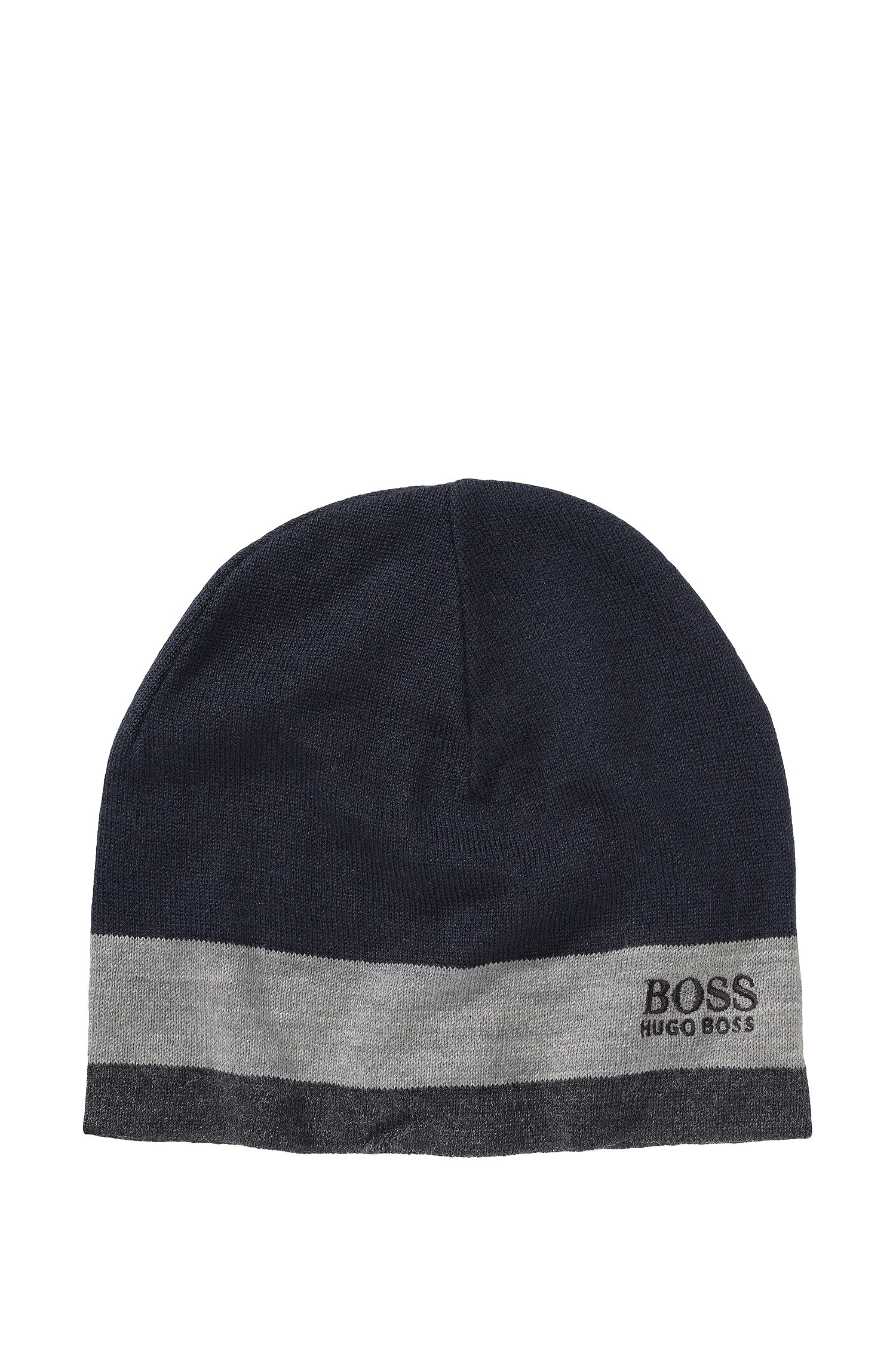 7be621abc0b Boss Green Hat  Ciny  In New Wool Blend in Blue for Men - Lyst