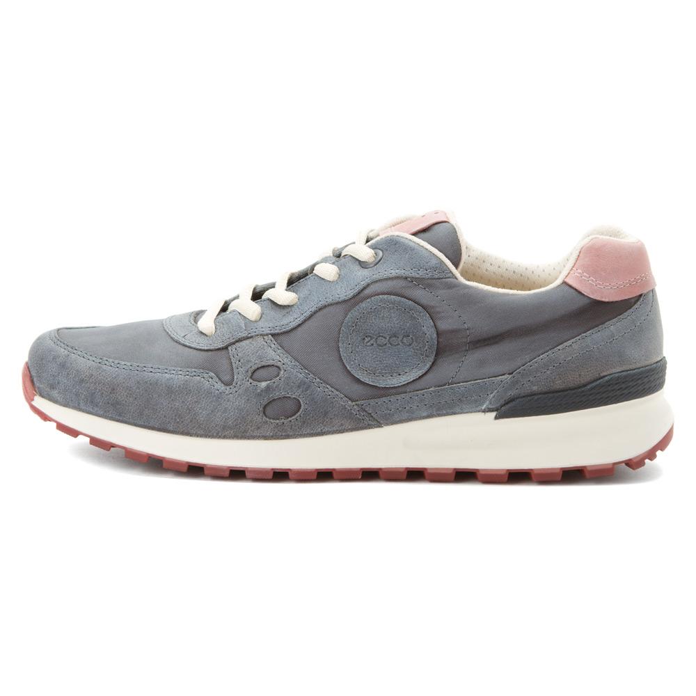 ecco cs14 retro sneaker in gray lyst