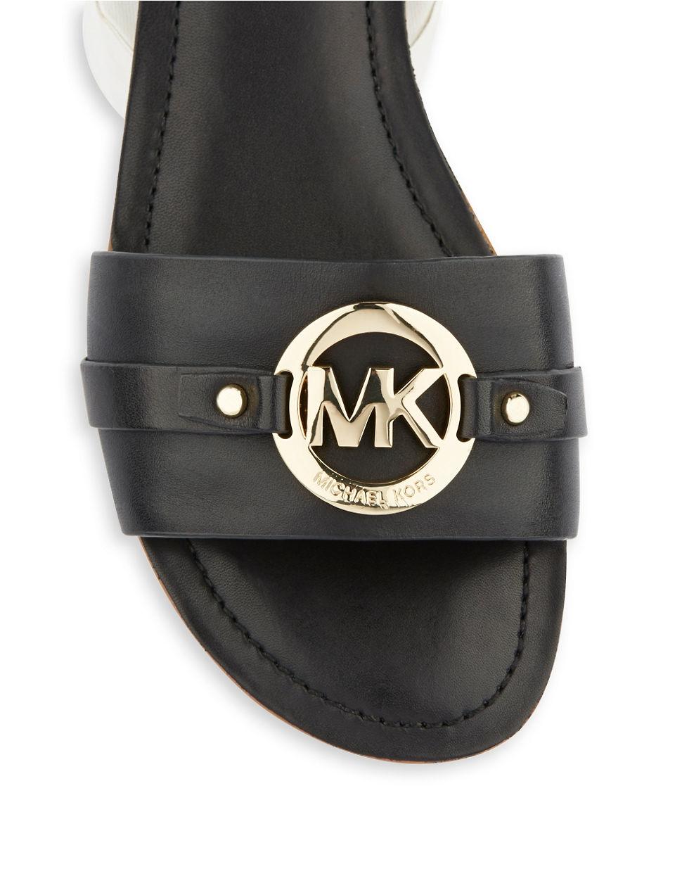 Black mk sandals - Gallery