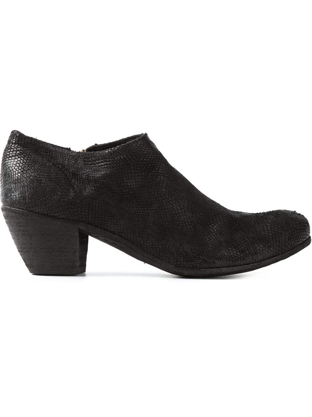 Innovative Free People Officine Creative Womens Sutton Zip Mid Boot In Black   Lyst