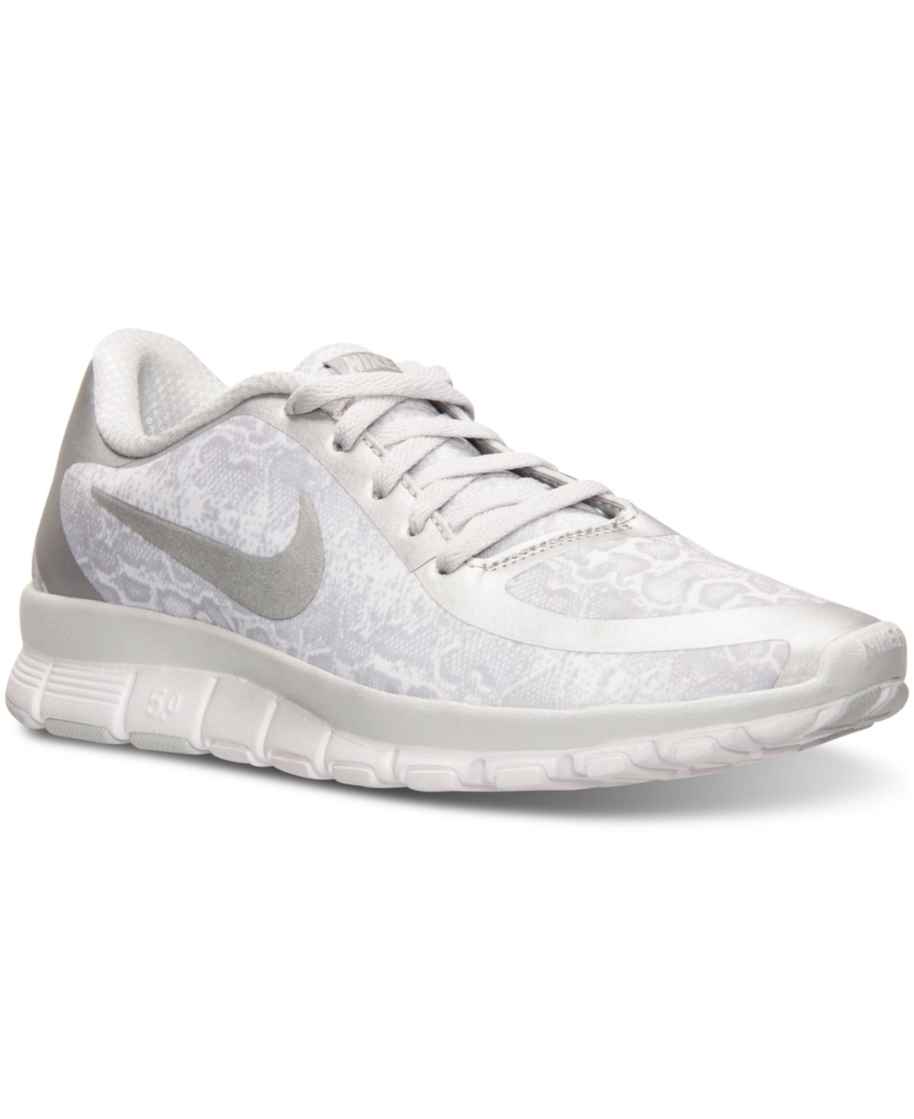 b2d36601078e3 ... reduced lyst nike womens free 5.0 v4 running sneakers from finish line  in ca595 bf934