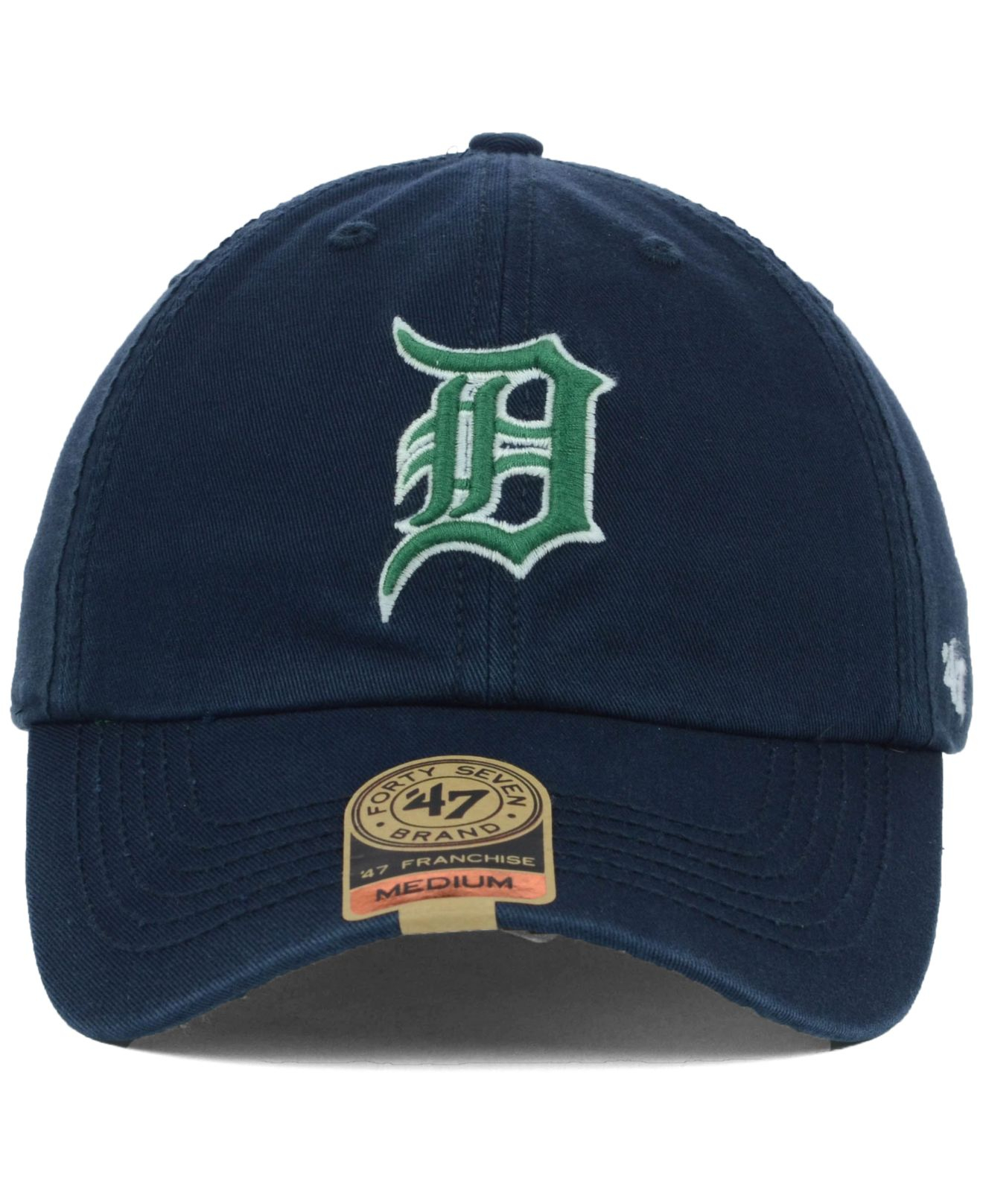 reputable site cfd17 e7bba ... usa lyst 47 brand detroit tigers mlb dublin cap in blue for men a705d  578ab