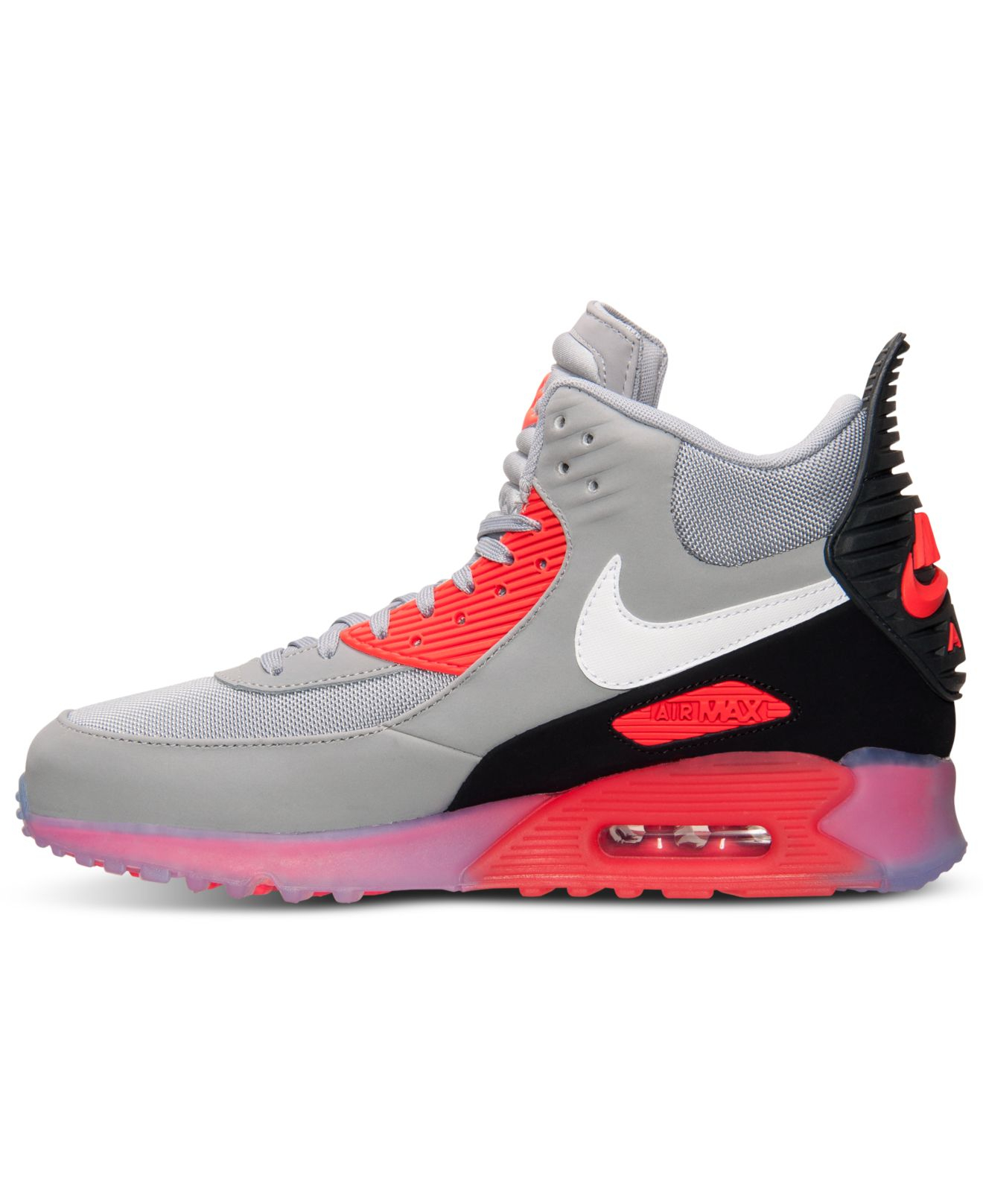 f24cc5d469b ... cheapest lyst nike mens air max 90 sneakerboot ice from finish line in  gray for men