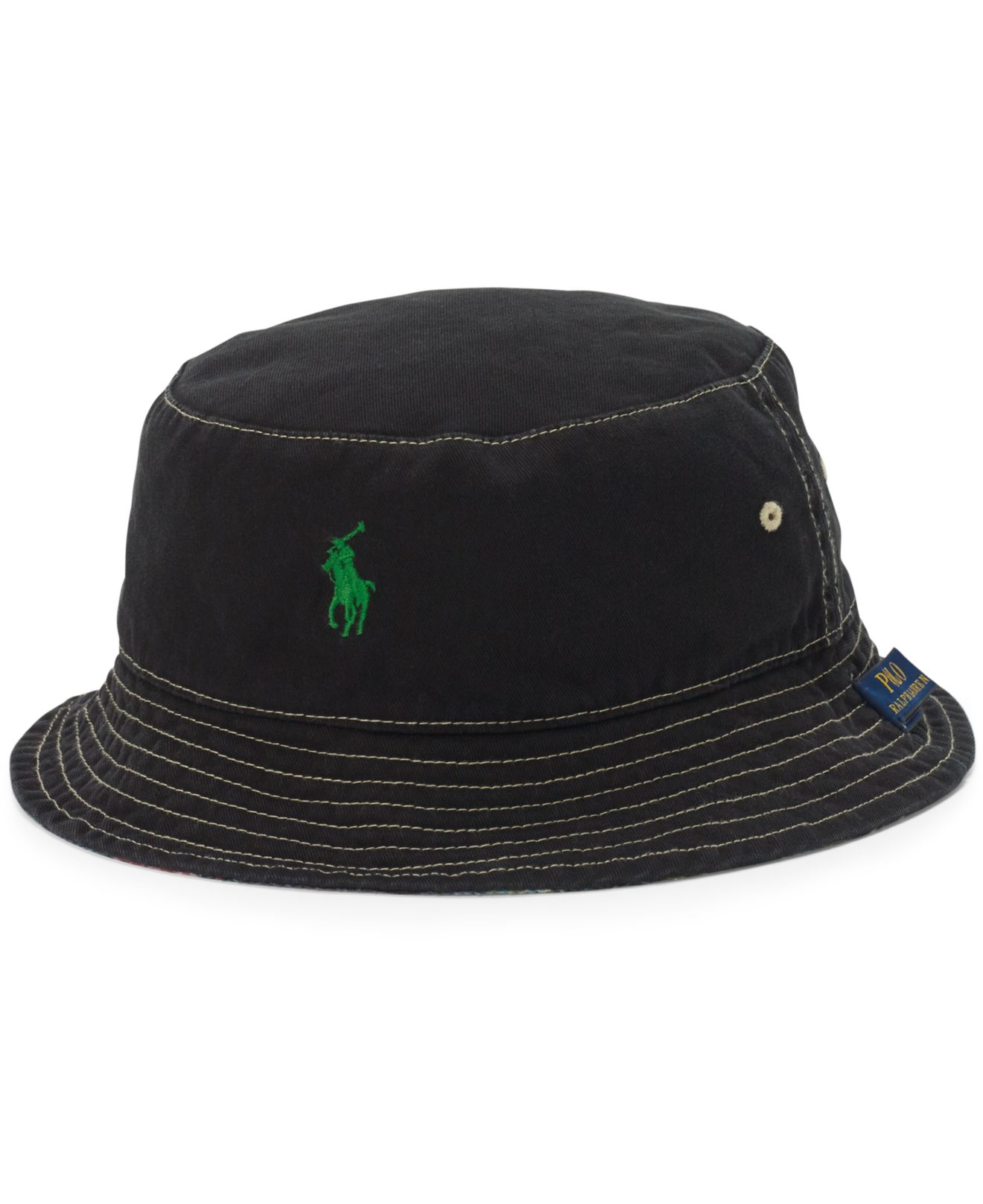 Lyst - Polo Ralph Lauren Flamingo-print Reversible Bucket Hat for Men a37bb8f4931