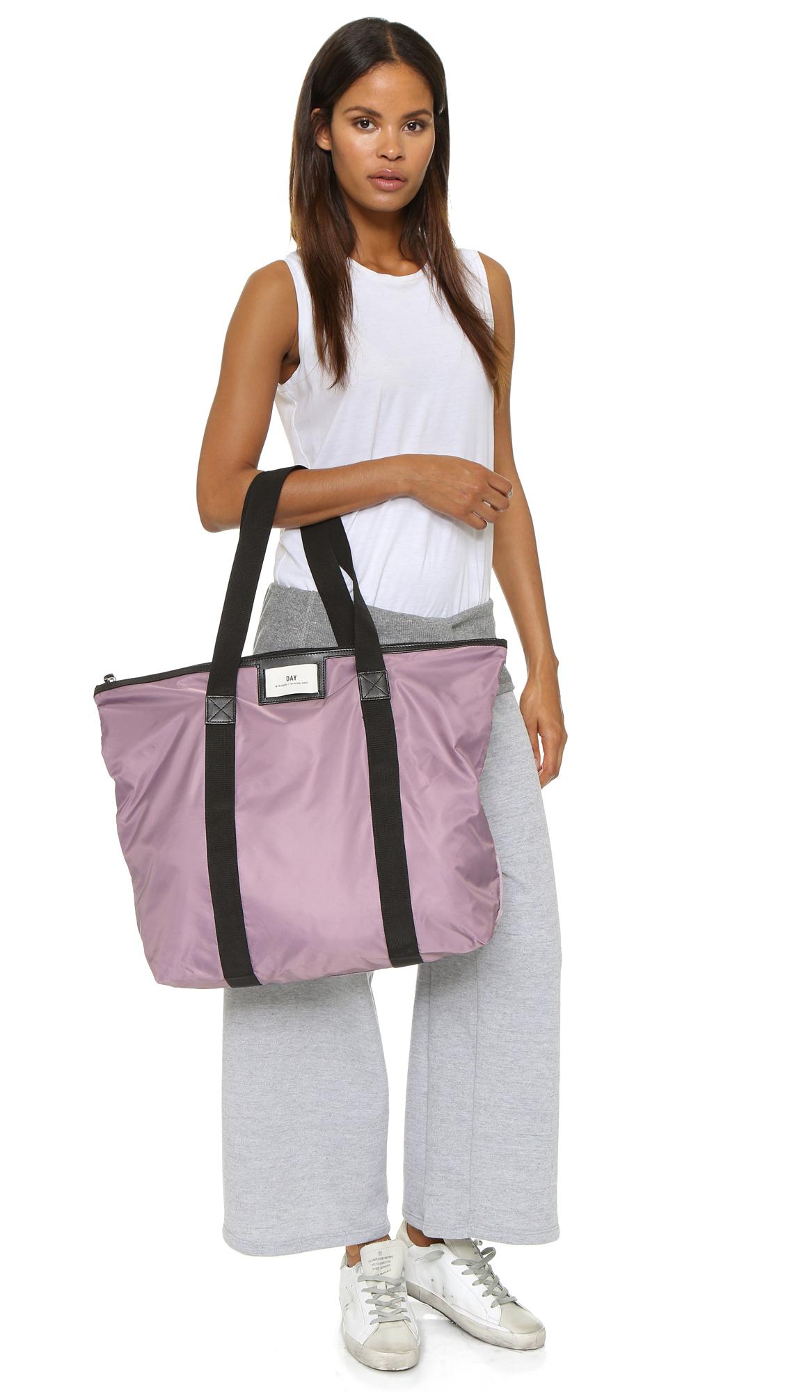 day birger et mikkelsen day gweneth bag faded violet in purple lyst. Black Bedroom Furniture Sets. Home Design Ideas