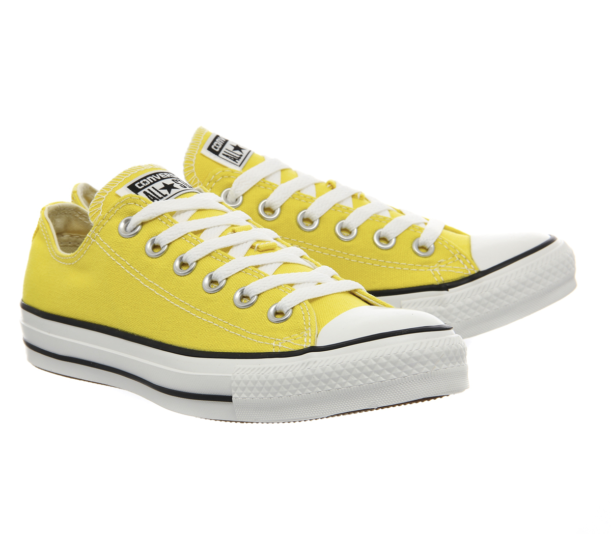 Converse All Star Low In Yellow Citrus Lyst