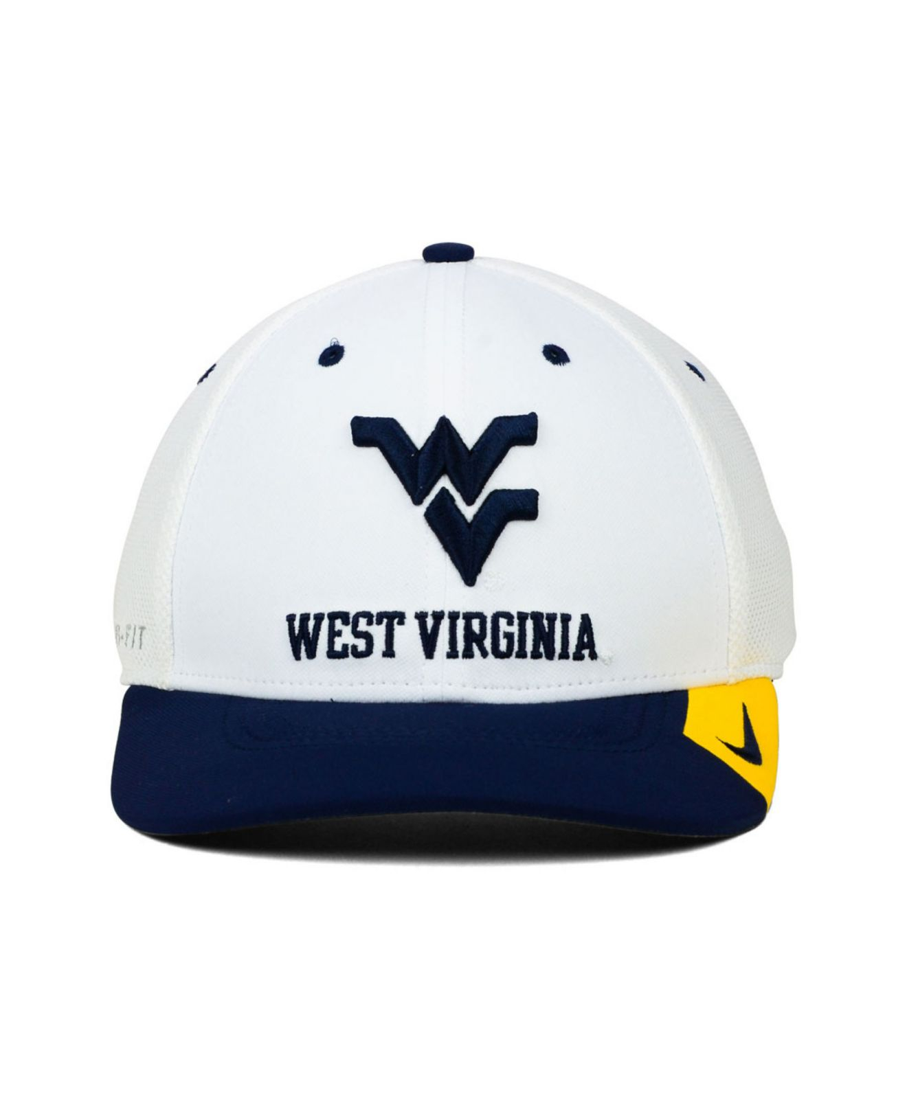 4f0ae038 ... release date aliexpress lyst nike west virginia mountaineers conference  swf cap in white d5682 8a840 e4031