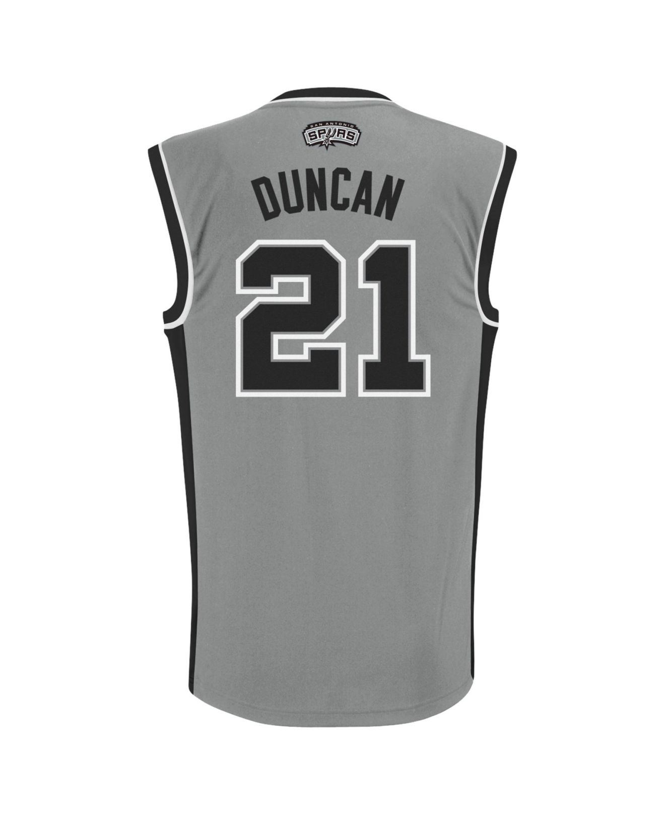 a24a9b72e96 Lyst - adidas Men'S San Antonio Spurs Tim Duncan Jersey in Gray for Men