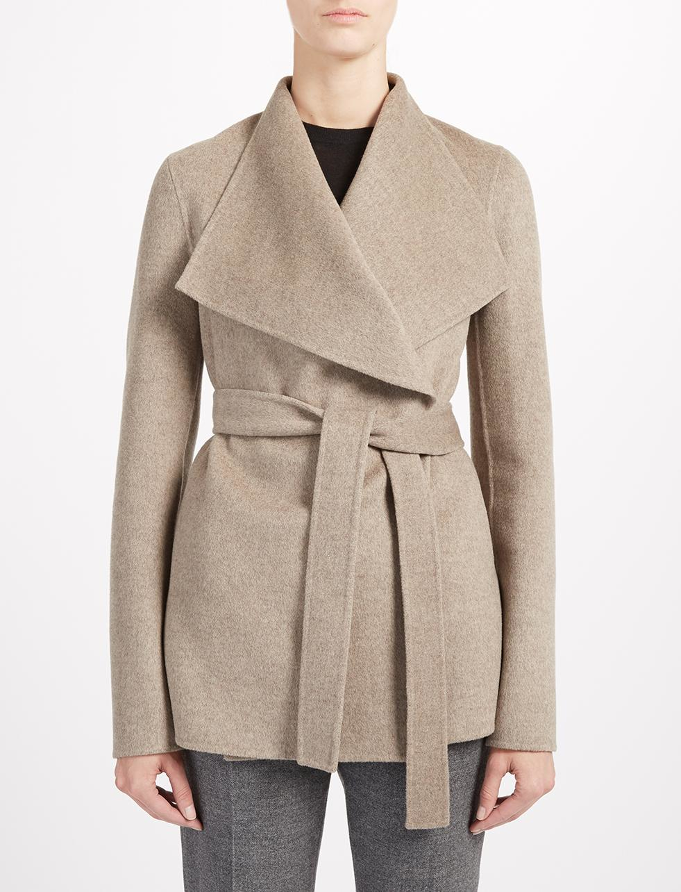 Joseph Double Cashmere Lisa Coat in Natural | Lyst