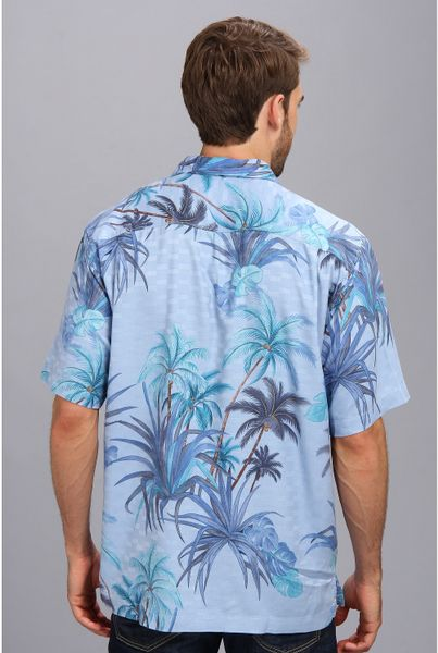 Tommy Bahama Serenity Palms Ss Camp Shirt In Floral For