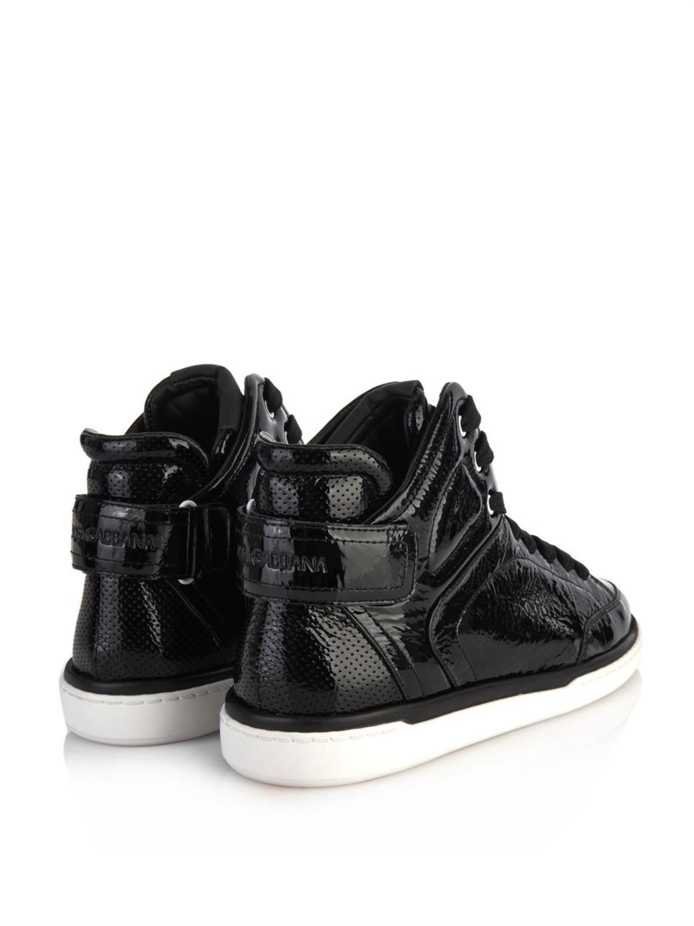 Dolce & Gabbana Patent Leather Top jwJY8dwHez