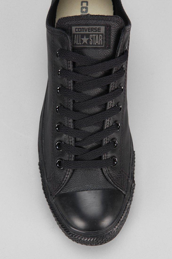 77fffe3ea89 Lyst - Converse Chuck Taylor All Star Leather Low-Top Men S Sneaker ...
