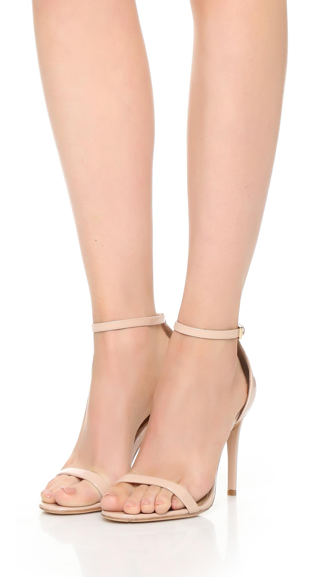 Rachel Zoe Ema Metallic Leather Stiletto Sandal MnA8r